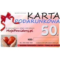 KARTA PODARUNKOWA 50