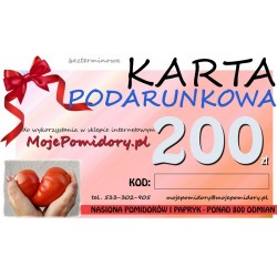 KARTA PODARUNKOWA 200